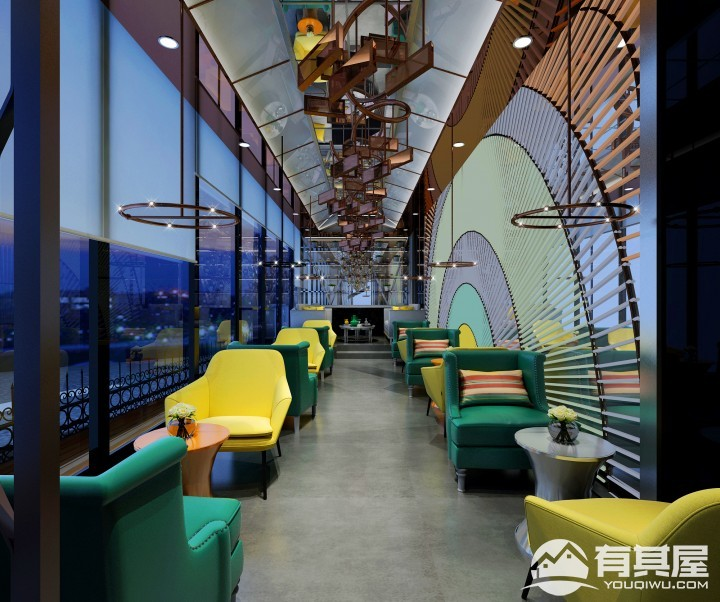 太姥山豪华酒店装修设计效果图欣赏