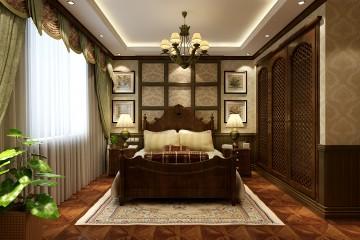 天元冶金小区美式别墅风格设计效果图
