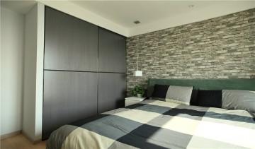 东方国际三居室现代风格设计效果图