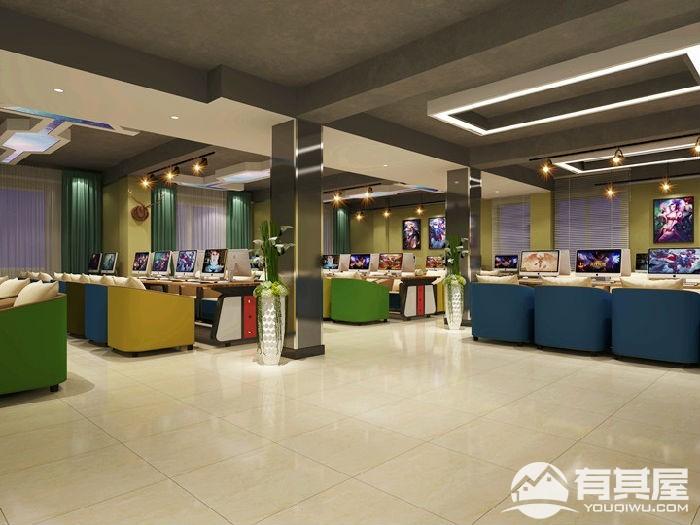 深圳市龙华新区观澜良辰网咖设计