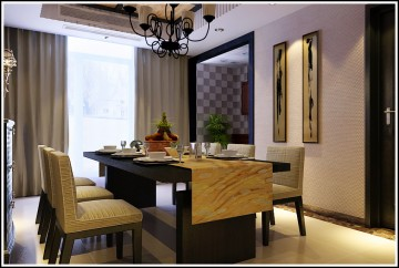 石家庄心海假日别墅现代简约风格设计效果图案例欣赏