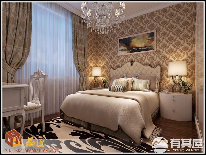 三室两厅家装简欧装修设计效果图欣赏
