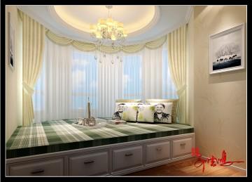 四室兩廳簡歐風格效果圖案例欣賞
