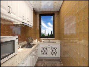 廚房整體設計效果圖欣賞
