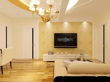 珠江帝景小户型现代风格设计效果图案例欣赏