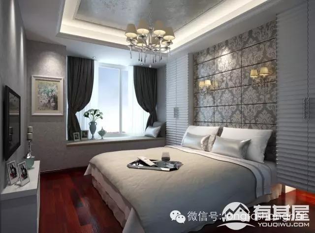 三室两厅家装现代简约风格设计效果图