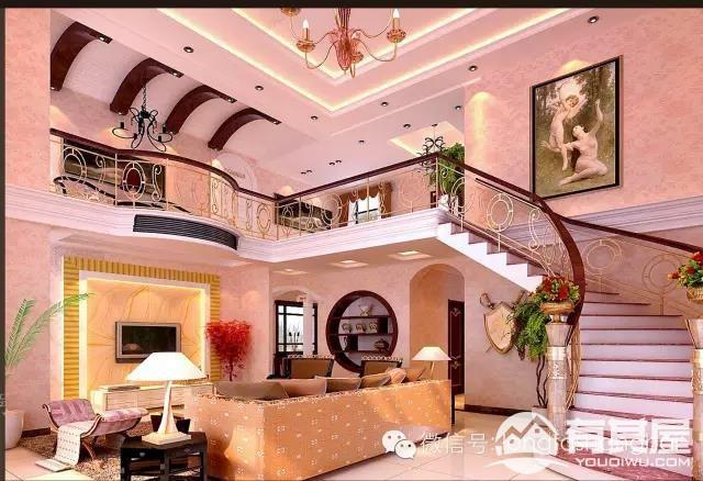 别墅混搭装修设计效果图案例欣赏