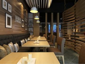 东莞咖啡厅装修280平方