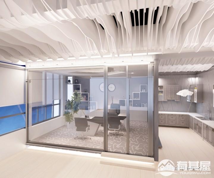 天瑞智慧工厂研发中心办公室装修效果图