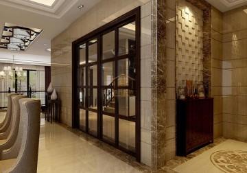 豪华别墅东南亚装修设计效果图案例欣赏