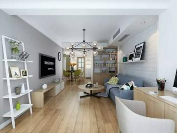 四室兩廳現代簡約風格設計效果圖案例欣賞