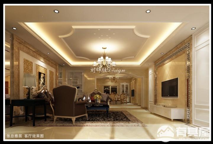 复式楼层欧式风格设计效果图欣赏