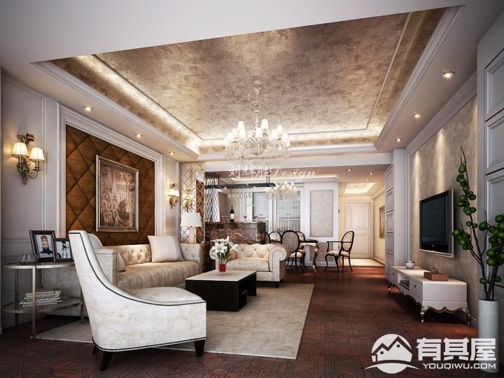 四室两厅现代装修设计效果图欣赏