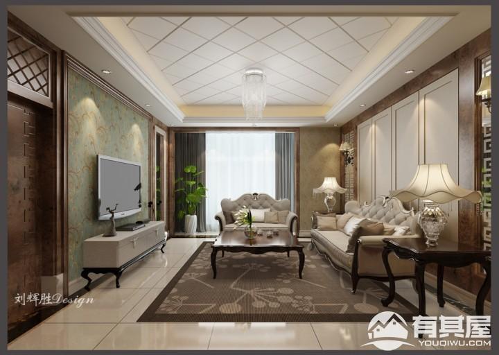 四室两厅家装现代简约风格设计效果图欣赏