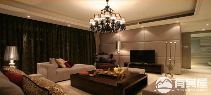 佛莱明弋110平三室两厅现代风格设计效果图欣赏
