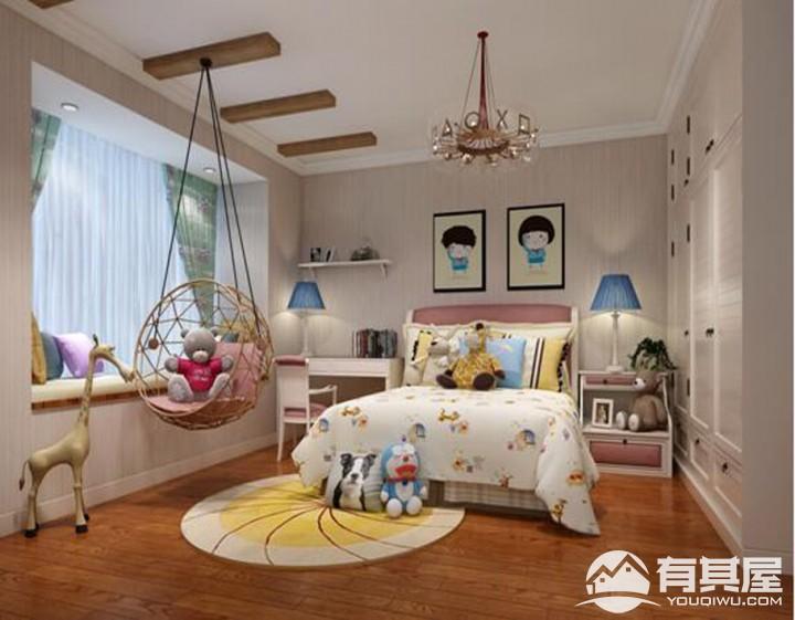 密云蓝河湾小区三室两厅简欧装修设计效果图欣赏