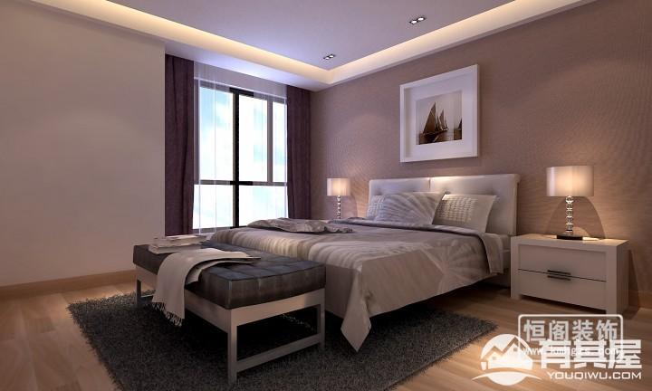兴港珑湾三室两厅现代简约风格设计效果图欣赏