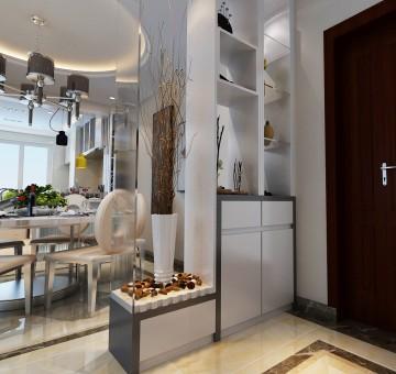 首尔甜城三室两厅现代简约风格设计效果图欣赏