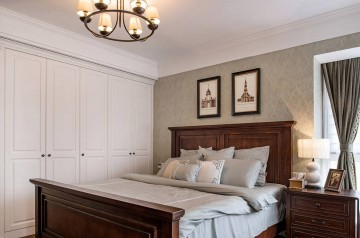 两居室家装现代简约装修设计效果图案例欣赏