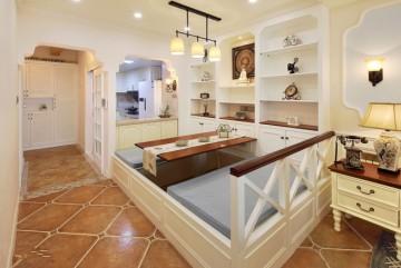 两居室小户型美式风格设计效果图欣赏