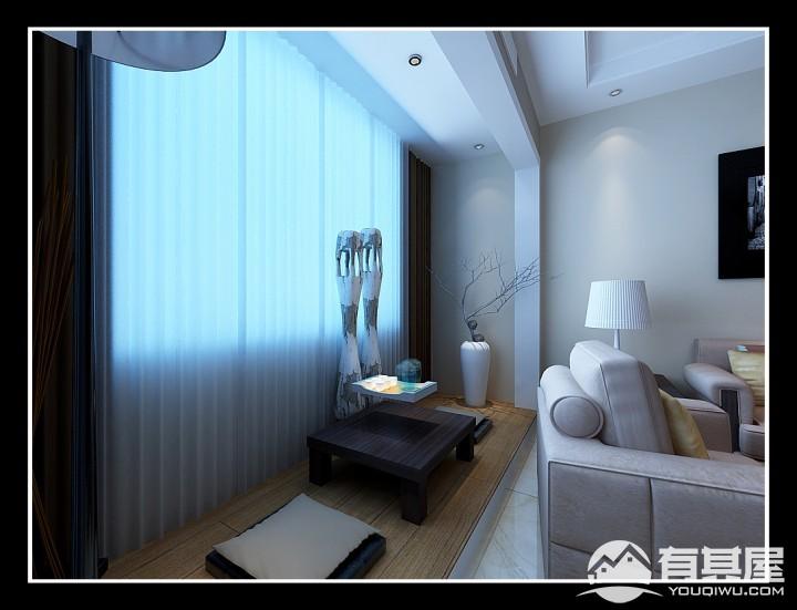 两居室家装简约风格设计效果图欣赏