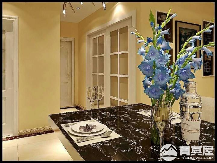 夏威夷蓝湾两居室现代简约风格设计效果图欣赏