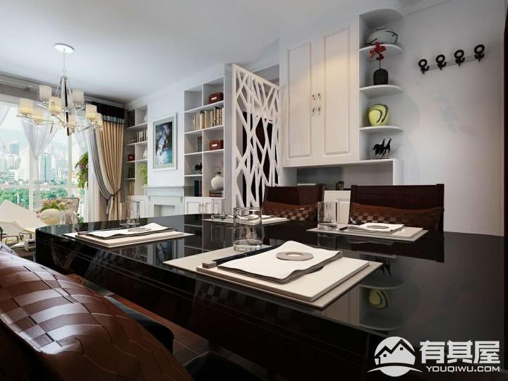 三室两厅家装现代简约风格设计效果图欣赏