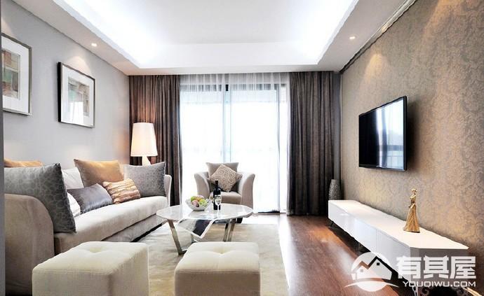 小居室小户型简约欧式风格设计效果图