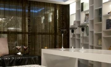 阅城国际三居室现代装修设计图1