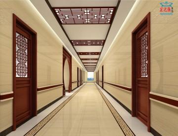 社区卫生服务中心中医走廊