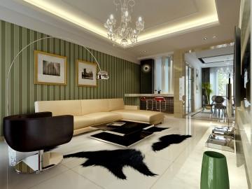 现代风格别墅装修设计效果图3