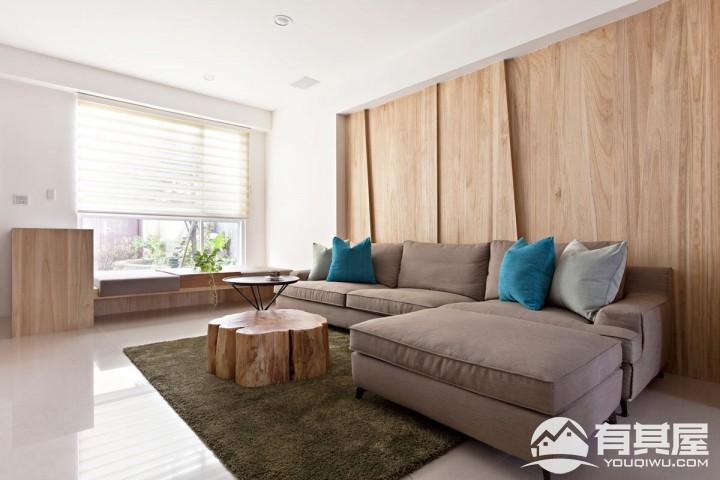 三室两厅家装简约装修设计效果图