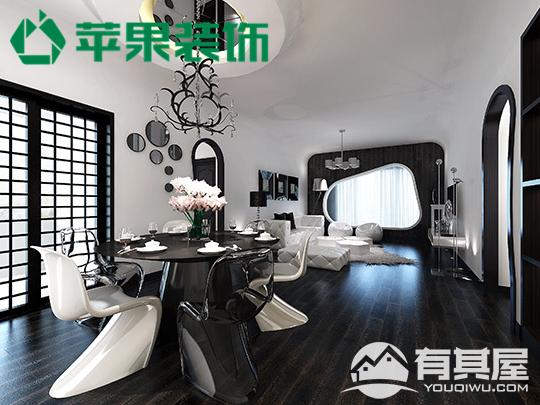 阳光西海岸三室两厅现代风格设计效果图欣赏
