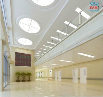 社区卫生服务中心裙楼大厅