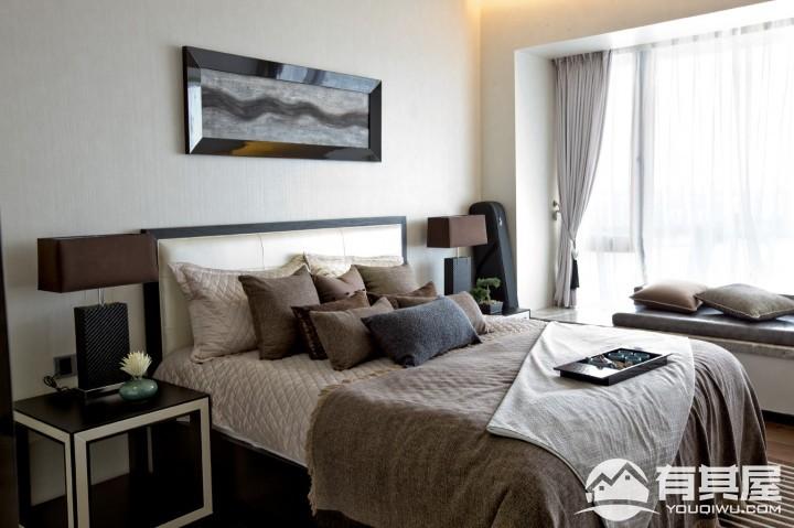 贵安新天地三室两厅中式风格设计效果图欣赏