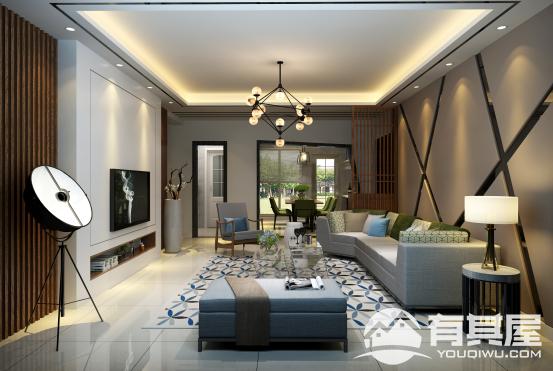 联建新苑三室两厅欧式风格装修设计效果图欣赏