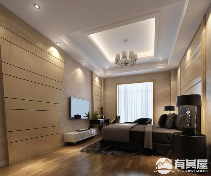 三迪香颂枫丹现代简约复式楼装修效果图