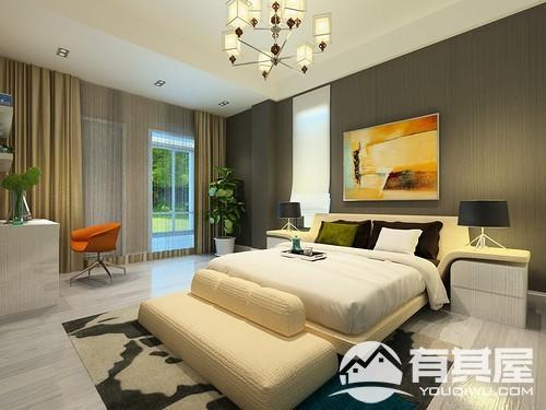 世茂上游墅两居室欧式风格设计效果图欣赏