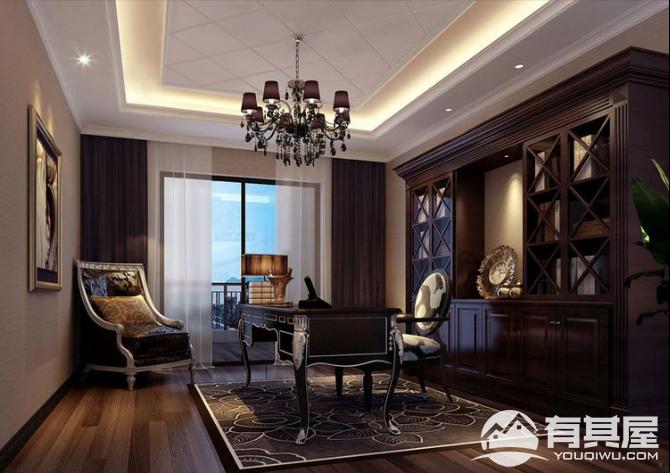 融信大卫城三室两厅现代风格设计效果图欣赏