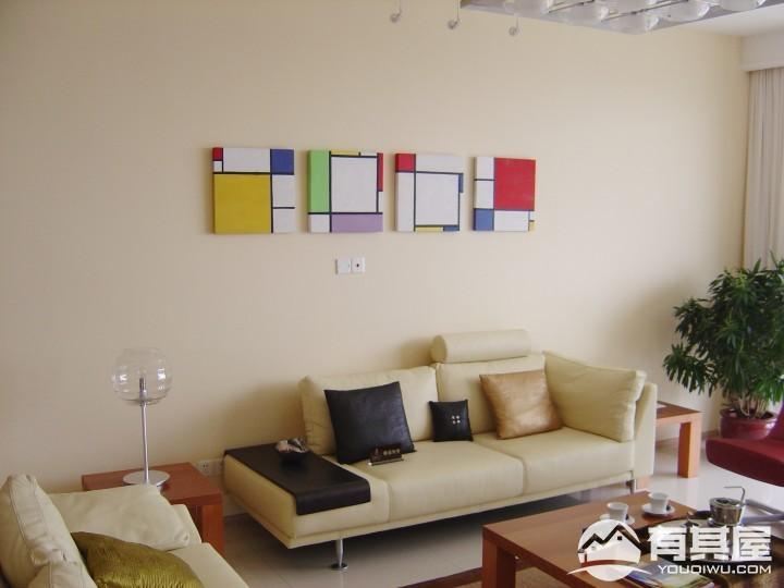 君临天下三室两厅家装现代简约装修设计效果图