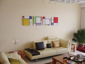 客厅沙发装饰