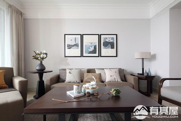 三室两厅家装中式风格设计效果图欣赏