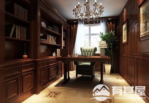 中海寰宇天下四室两厅欧式风格设计效果图欣赏