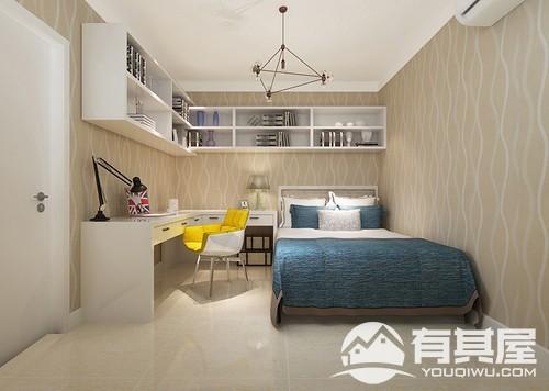 中庚香山天地两居室现代简约装修效果图欣赏
