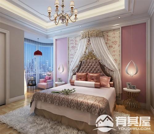 三木公园里四室两厅欧式风格设计效果图欣赏