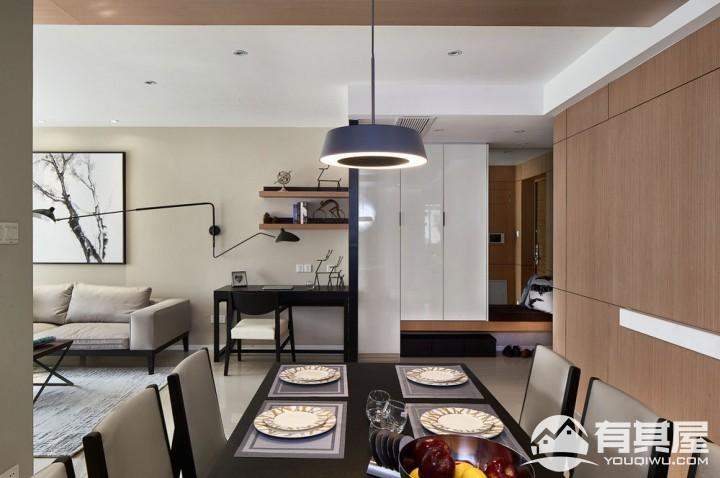 星韵花园三室两厅家装北欧装修设计效果图欣赏