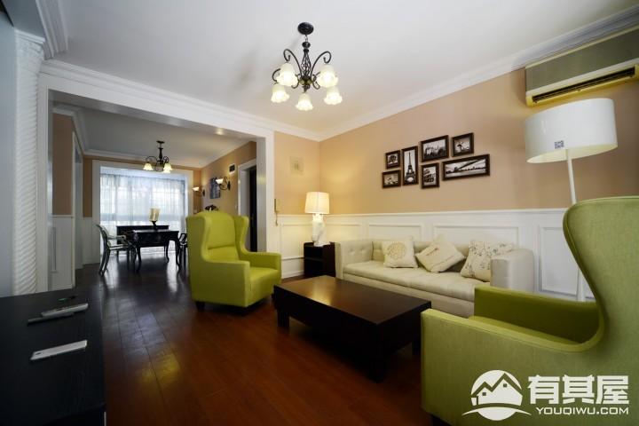 三室两厅家装欧式风格设计效果图欣赏