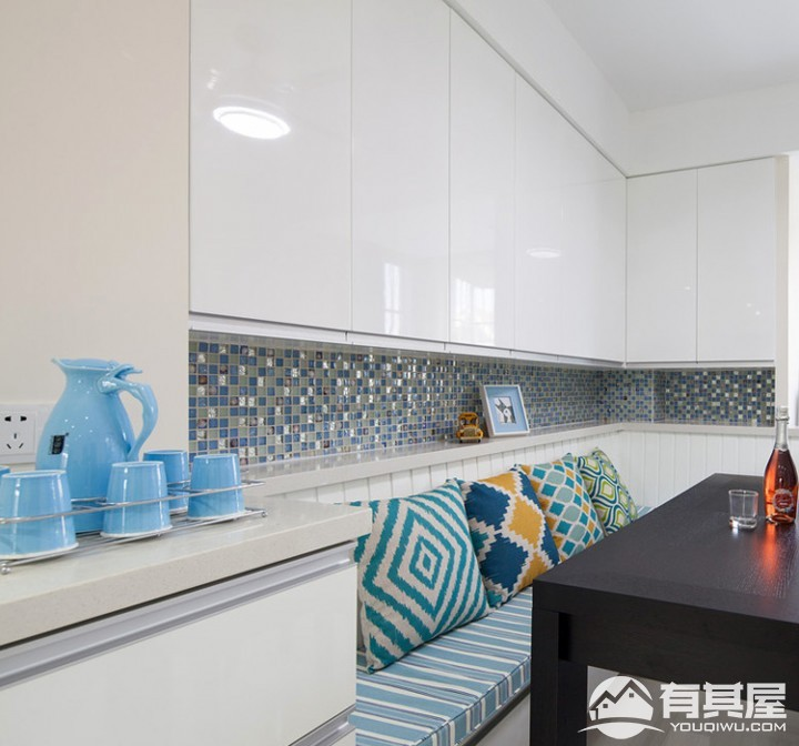 林肯公寓三室两厅现代简约现代风格设计效果图欣赏