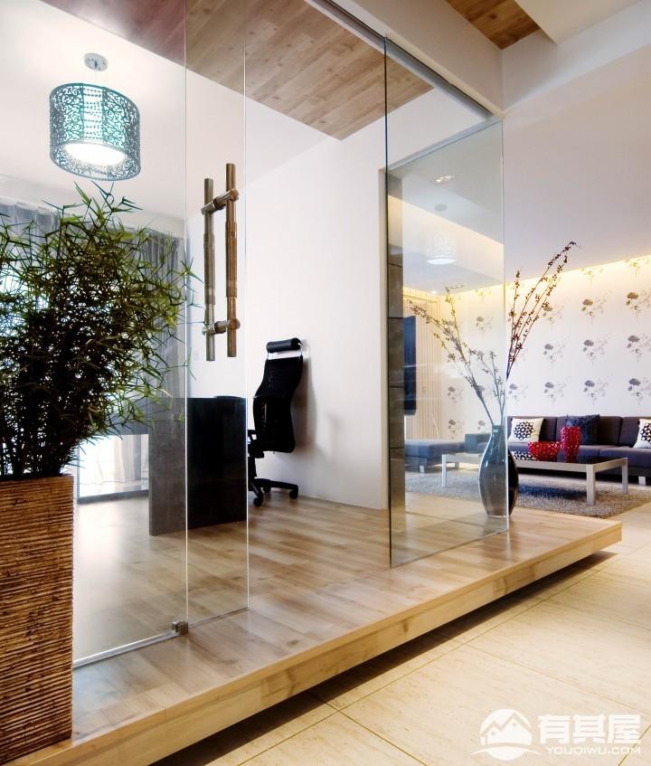 美伦浩洋丽都三室两厅现代简约装修设计效果图欣赏