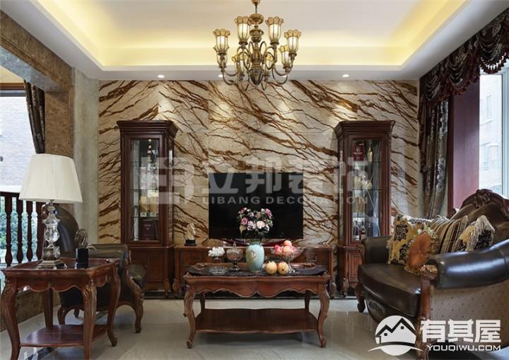 古龙御景三室两厅古典风格设计效果图欣赏